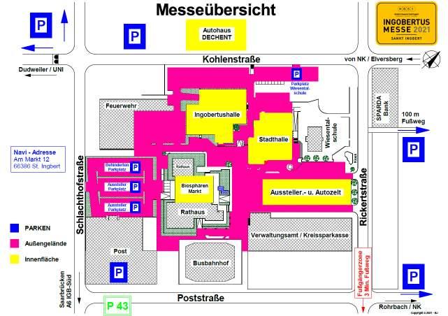 Plan Messe – Übersicht 05052021
